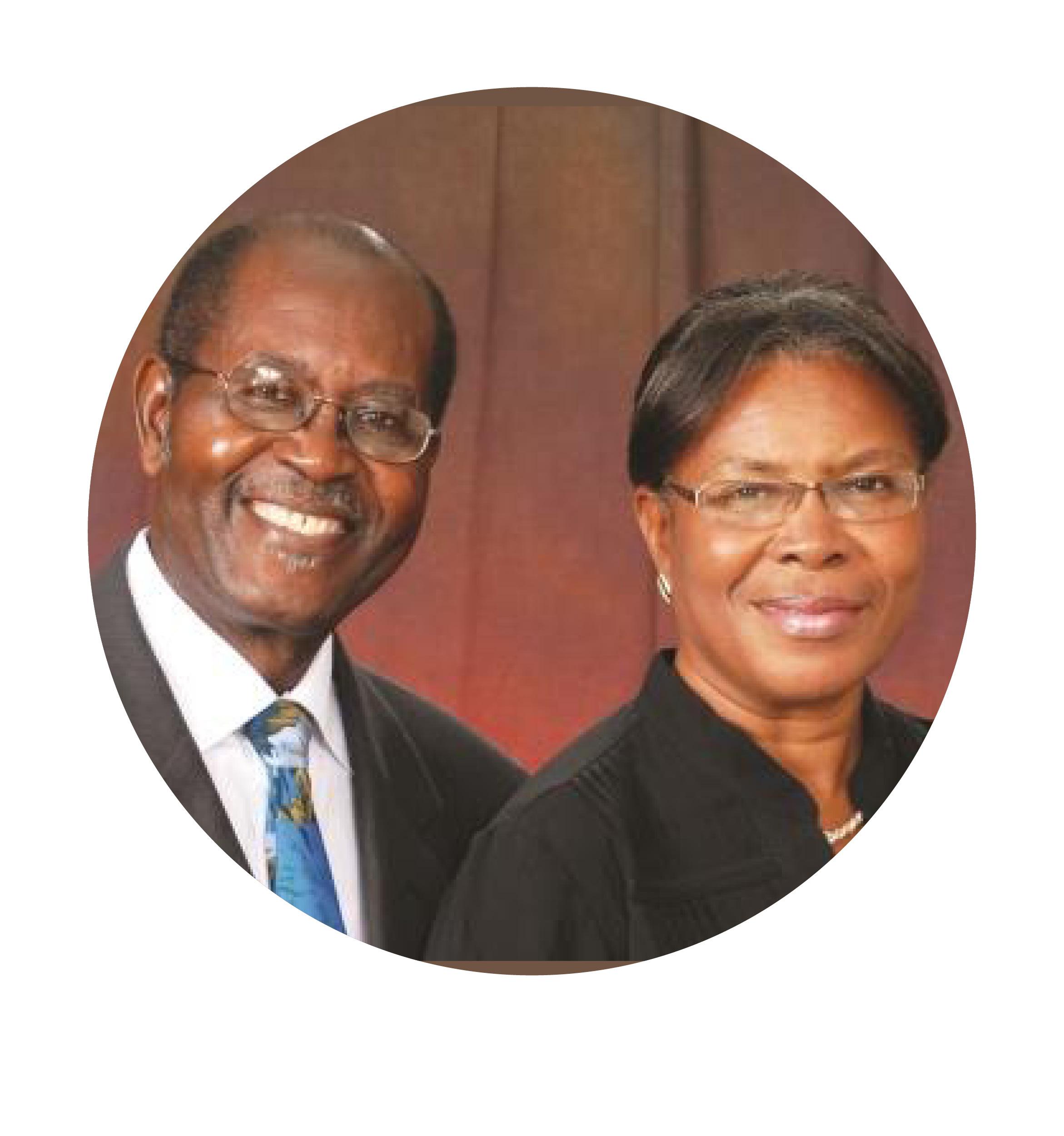 Rev. Lucien & Mrs. Maude Saul
